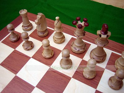 Wegiel Chess Set - Consul Chess Pieces & Folding Board