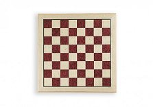 Inlaid Erable Chess Board (44cm + Edging) Red