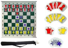 Large Demo Chess Board - Slot-in Pieces (92cm)