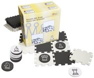 Large Chess & Draughts Set with Foam Board