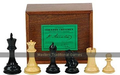 Jaques Ebonised Boxwood Fischer/Spassky Chess set 49040