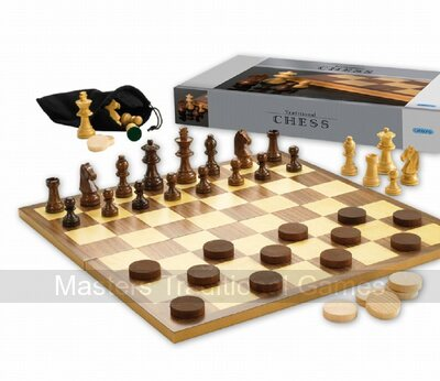 Gibsons Chess and Draughts Set