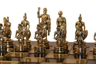 Uber Greek Roman Chess Set
