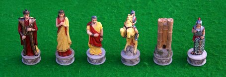 Italfama Battle of Troy / Trojan Chess Pieces
