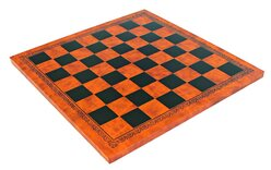 Italfama Leatherette Chess Board - 33cm