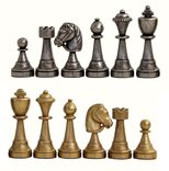 Italfama Metal Chessmen