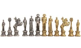 Italfama Napoleon Metal Chess Set