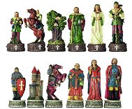 Italfama Robin Hood Chess Pieces - Resin, Hand-Painted