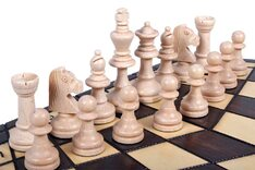 3 Player Chess Set - Large 54cm Hexagonal Board