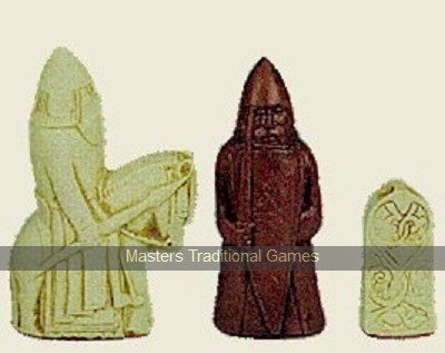 Jaques Replica Lewis chessmen (without board)
