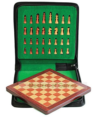 Petrosian Magnetic Chess Set with Carry Case (20 x 20cm)