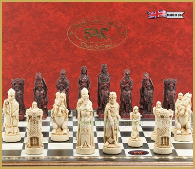 SAC Battle of Bannockburn Chess Set (without board)