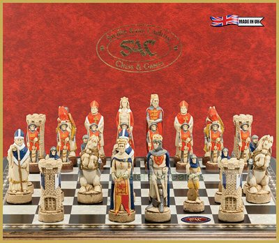 SAC Battle of Bannockburn Chess Set - Hand Painted (without board)