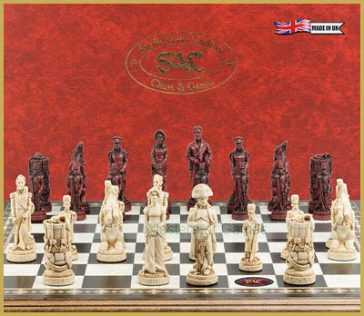 SAC Battle of Waterloo Chess Set (without board)