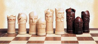 SAC Medieval Themed Masked Chess Men