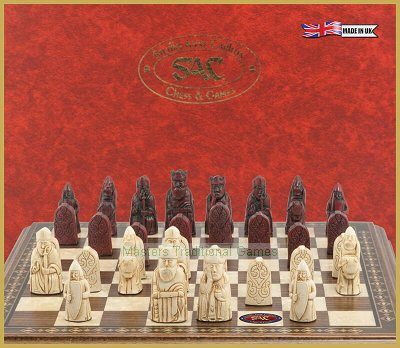 SAC Mini Isle of Lewis Chessmen (board not included)