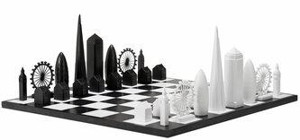 Skyline Chess London Chess Set - in presentation box