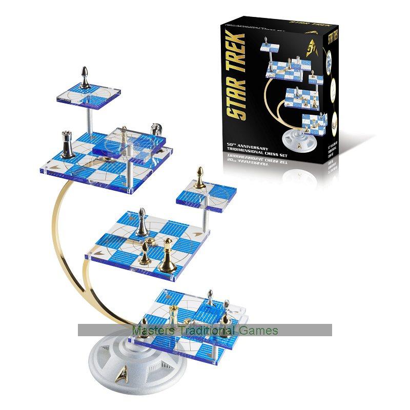 Franklin mint star trek tridimensional chess set - Tri dimensional chess set ...