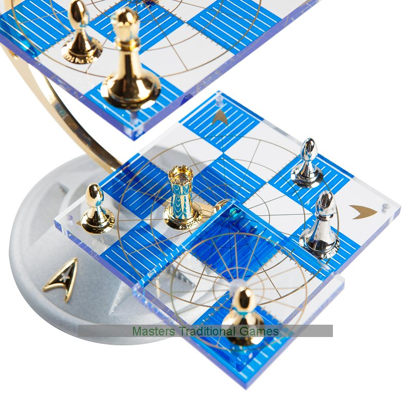 Franklin Mint Star Trek Tridimensional Chess Set