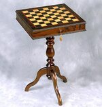 Giglio 40cm Lockable Cabinet Chess Table