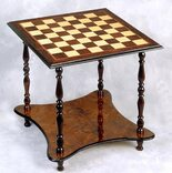 Giglio 2 Level, 4 Legged Chess Table