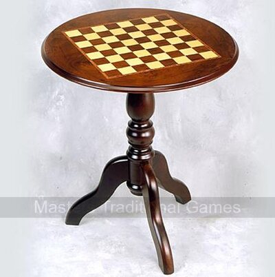 Giglio Round Chess Table (44mm squares)