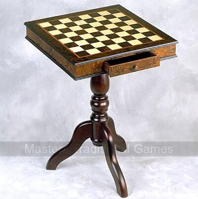 Giglio 51cm Square Chess Table (51mm squares)