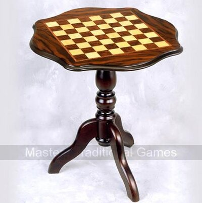 Giglio Curved Octagonal Chess Table (49mm squares)