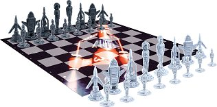 Thunderbirds Deluxe Chess Game (in tin)