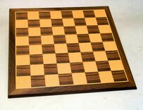 Westnedge 12 inch Chessboard with moulded edge