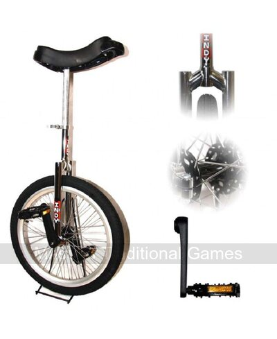 Indy Freestyle Unicycle (20 inch - Chrome)