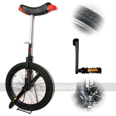 Indy Freestyle Unicycle (20 inch - Black)
