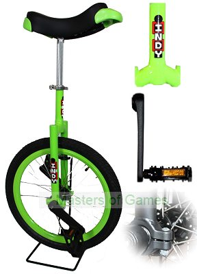 Indy Freestyle Unicycle (20 inch - Green)