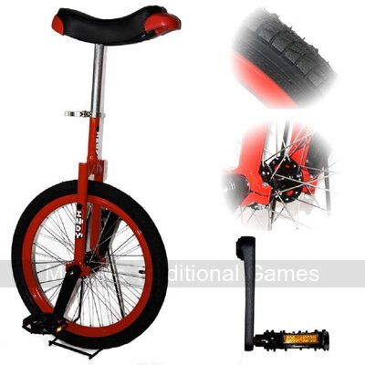 Indy Freestyle Unicycle (20 inch - Red)