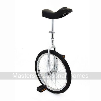 Indy Standard Trainer Unicycle (20 inch - Chrome)