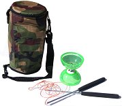 Cyclone Quartz 2 Diabolo (Green) with Bag (Camo)