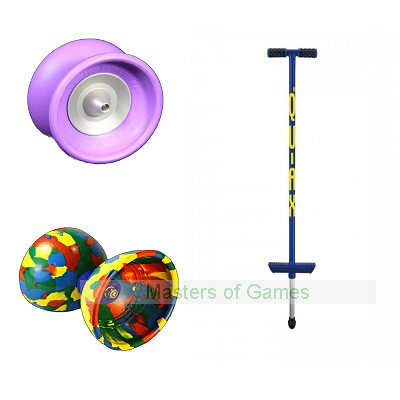 Children's Pogo, Yo-Yo, Diabolo Bundle