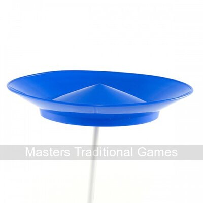 5 x Juggle Dream Spinning Plates & Plastic Flexi Sticks