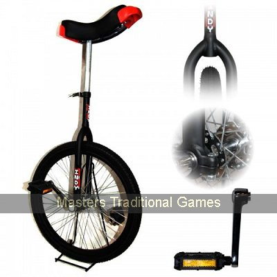 "Indy Standard Trainer Unicycle - 20"" - Black"