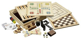 Philos Wooden Game Compendium - 30cm