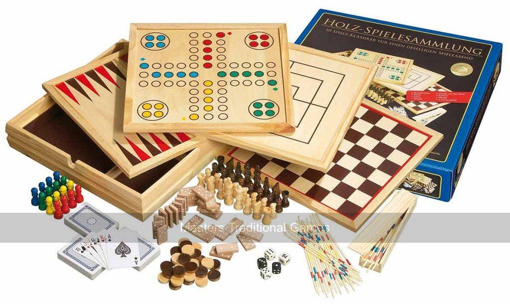 Philos Wooden Game Compendium 35cm 8 Games