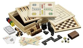 Philos Wooden Game Compendium - 23cm