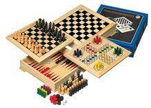 Philos Travel Wooden Game Compendium - 20cm