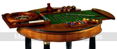 Dal Negro Grand Round Games Table