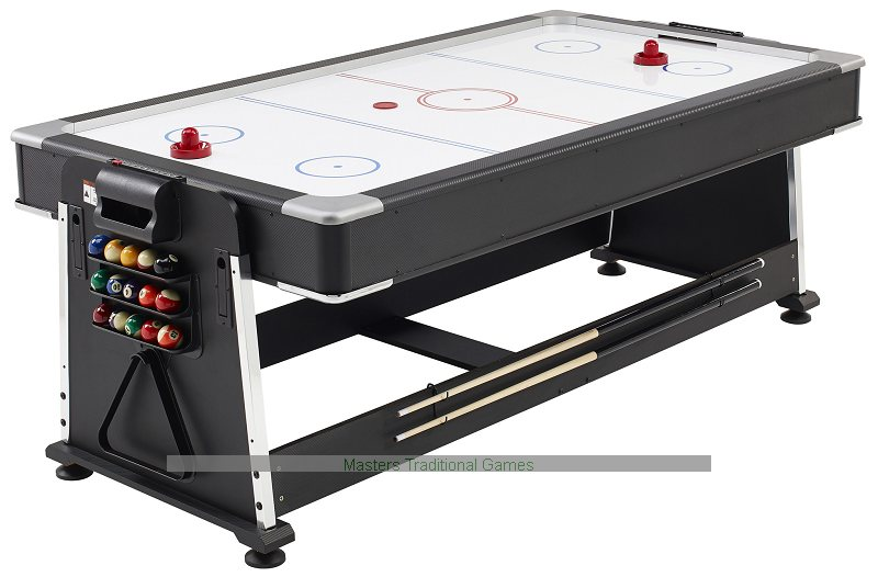 7ft 3 In 1 Revolver Pool / Air Hockey U0026 Table Tennis
