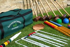G.G. Townsend Croquet Set (6 player in bag)