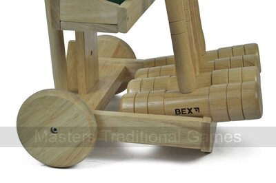 Bex Pro Croquet Set with Trolley (4 player)