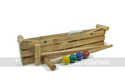 Bex Pro Croquet Set in Wooden Box (4 player)