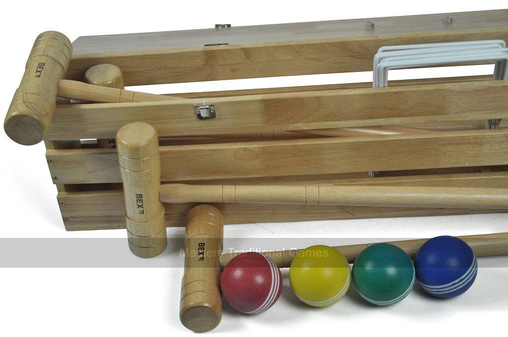 Bex Sport Pro Croquet Set In Wooden Box