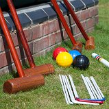 Cottage Croquet Set, 4 Player in a Bag